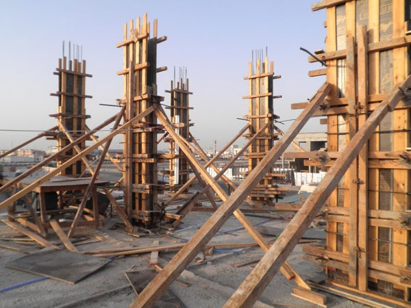 Basic construction process of rcc column for How to build a house on pillars