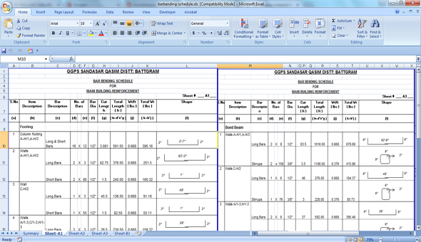 home building schedule template excel