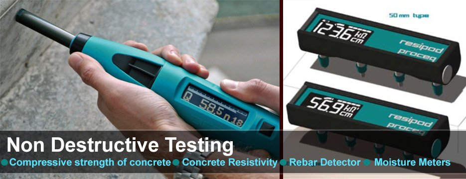 non destructive testing of concrete Full-text (pdf) | the estimation of mechanical properties of concrete can be carried out by several methods destructive and non-destructive in this context, the.