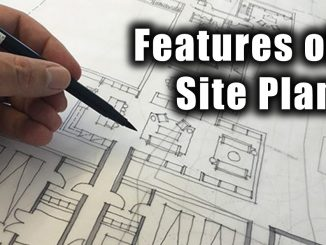 Features of a Site Plan